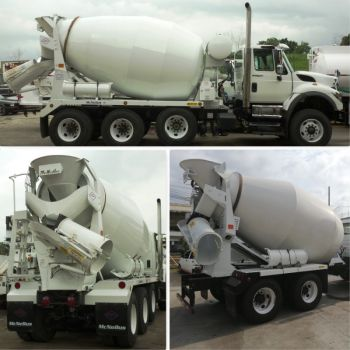 Camiones mezcladores de concreto
